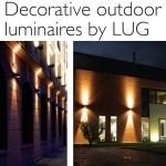 Iluminação decorativa ao ar livre